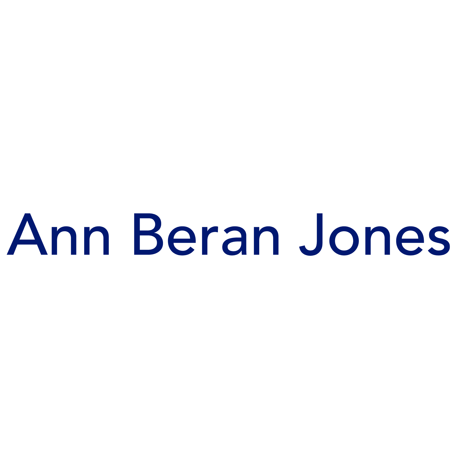 Ann Beran Jones