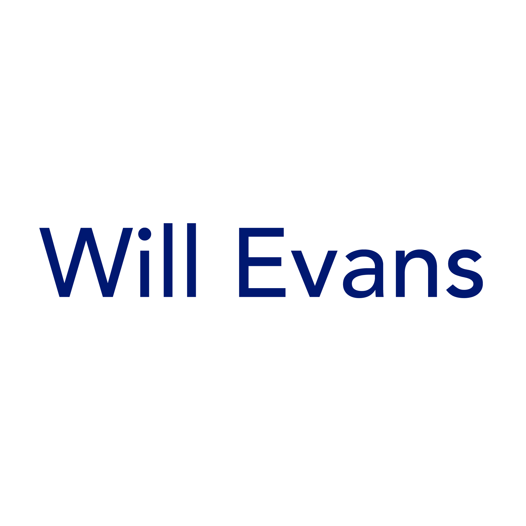 Will Evans