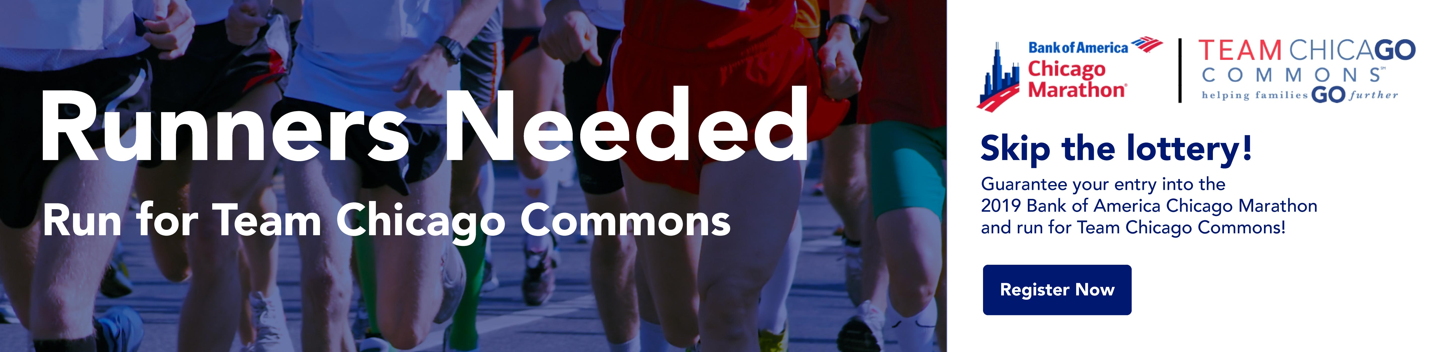 Bank of America Chicago Marathon - Run for Team Chicago Commons