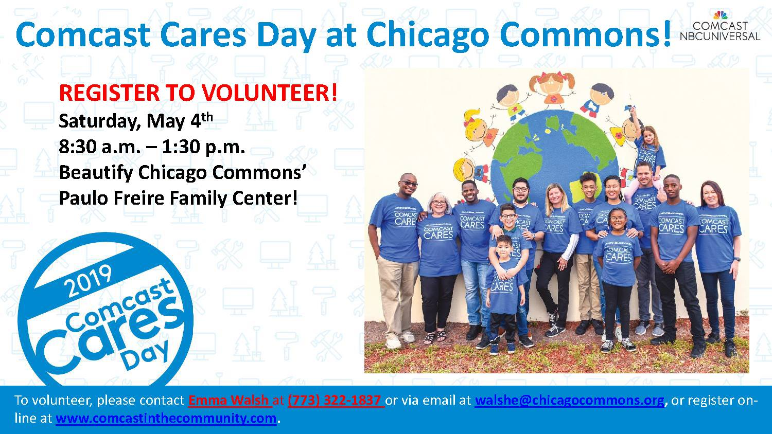 Chicago Commons: Comcast Cares Day - Chicago Commons