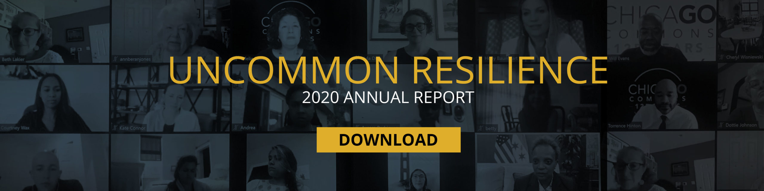 Uncommon Resilience: 2020 Annual Report - Download